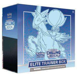 Pokémon TCG - Chilling Reign - Elite Trainer Box - Ice Rider Calyrex